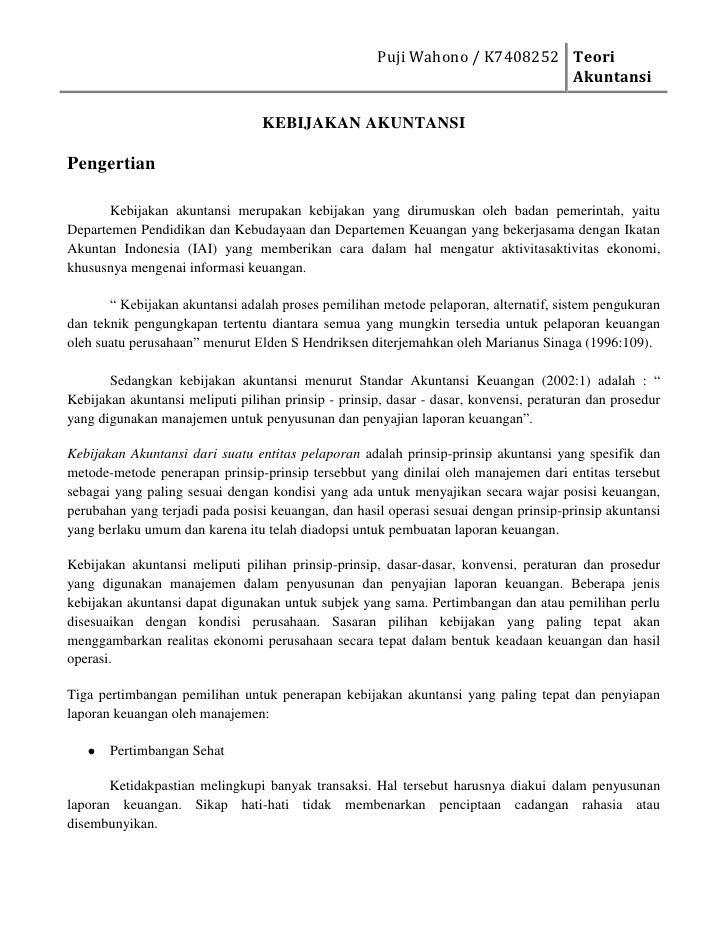 """HYPERLINK """"http://dindaituchdindhoet.wordpress.com/2010/10/19/kebijakan-akuntansi/"""" o """"Tautan Tetap ke KEBIJAKANAKUNTANS..."""