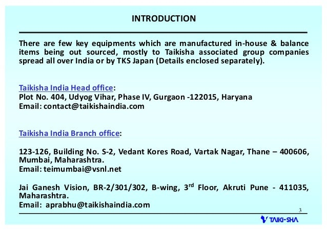 Taikisha Engineering India Limited, Gurgaon, Painting Plants