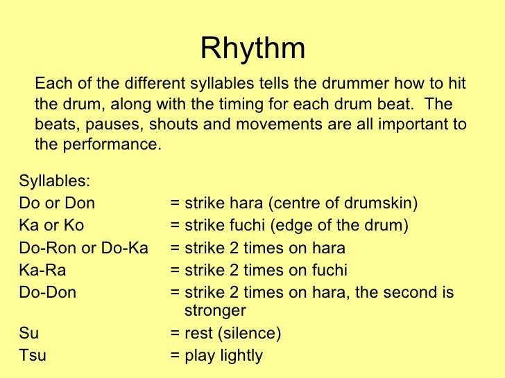 Taiko Drumming Presentation