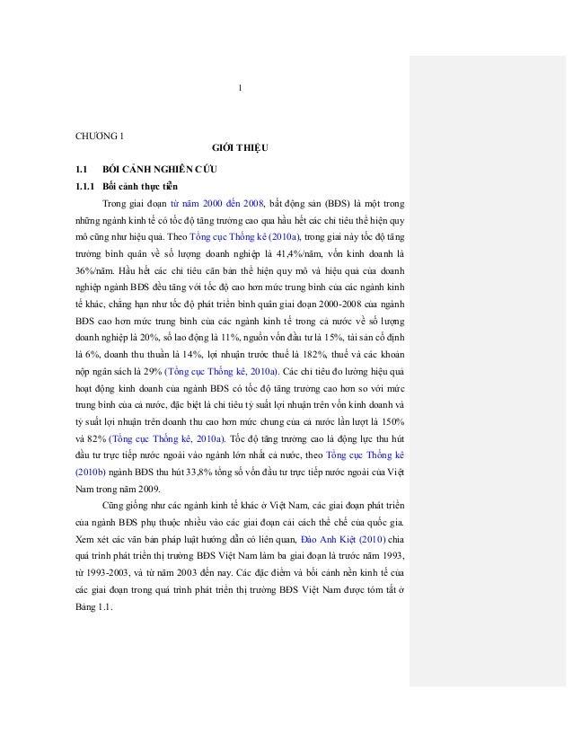 1 CHƯƠNG1 GIỚITHIỆU 1.1 BỐICẢNHNGHIÊNCỨU 1.1.1 Bốicảnhthựctiễn Tronggiaiđoạntừ năm2000đến2008,bấtđ...