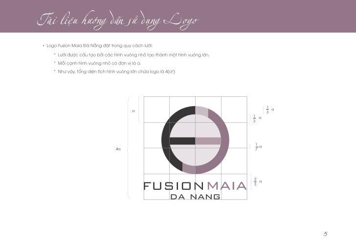 Brand identity guideline - Fusion Maia Da Nang