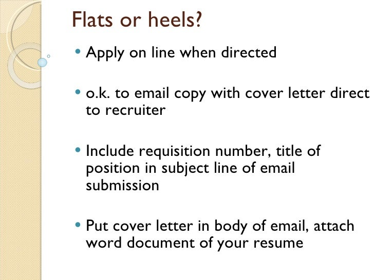 emailing your cv covering letter How to write a cover letter for a recruitment consultant  always go through your letter at least 2 more times before sending it in if possible,.