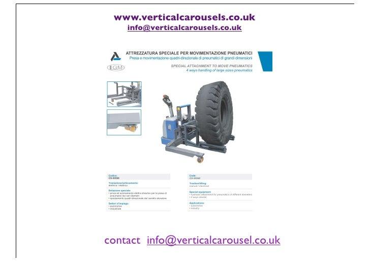 www.verticalcarousels.co.uk    info@verticalcarousels.co.ukcontact info@verticalcarousel.co.uk