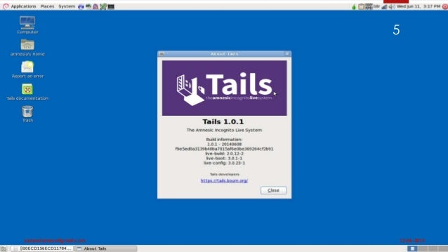 Tails os