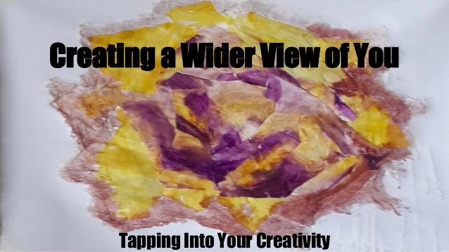 WATCH: Tapping into Creativity