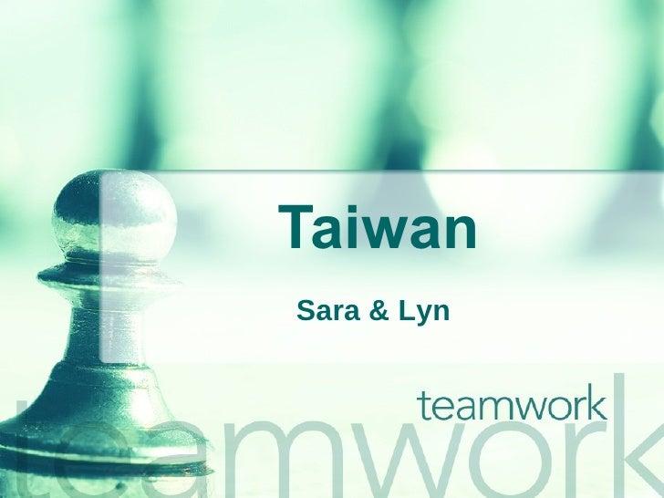 Taiwan Sara & Lyn