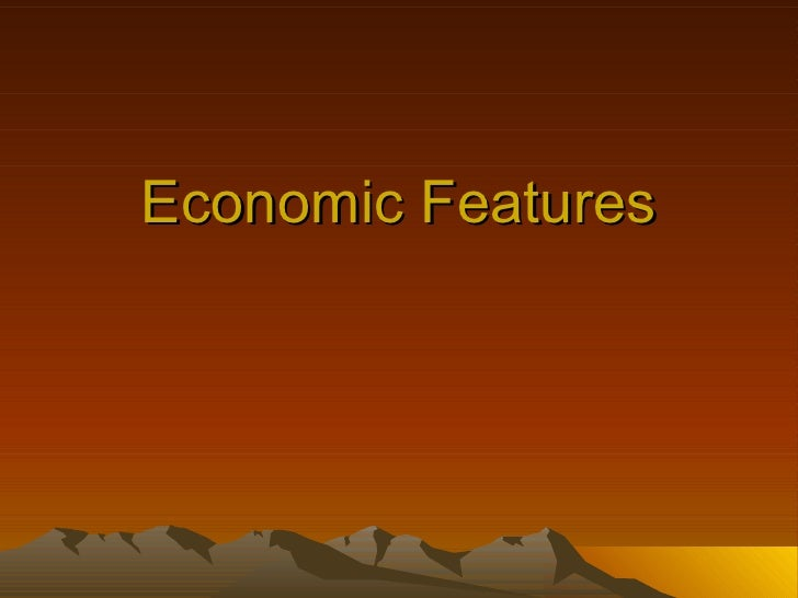 Economic Features