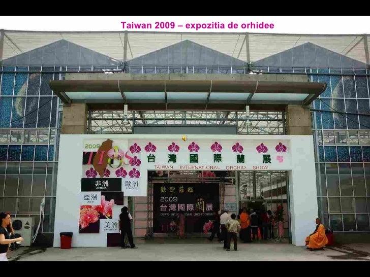 Taiwan 2009 – expozitia de orhidee