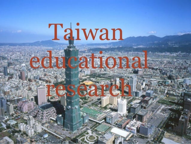 Taiwan educational research