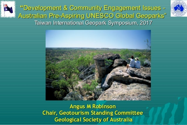 """""Development & Community Engagement Issues -Development & Community Engagement Issues - Australian Pre-Aspiring UNESCO Gl..."