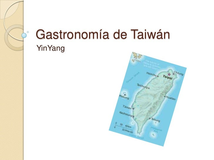 Gastronomía de TaiwánYinYang