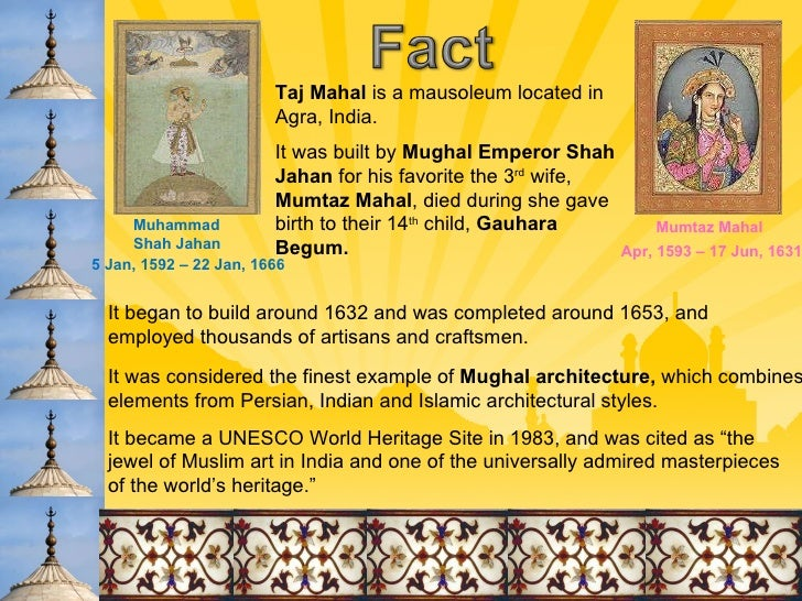 Shah Jahan's Golden Period of Architecture in India