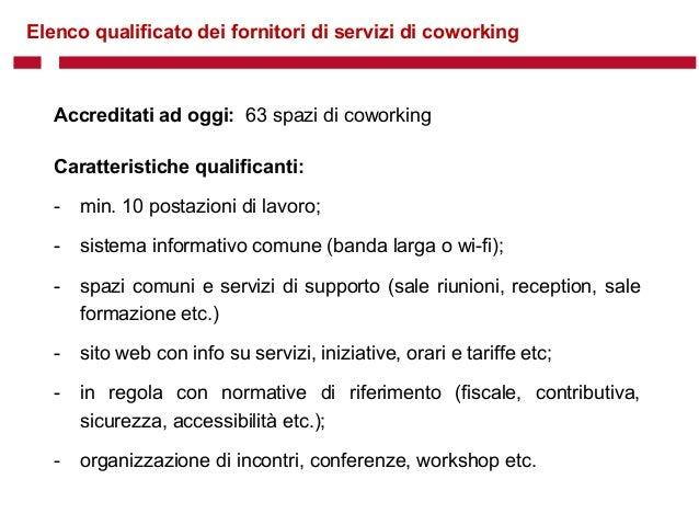 CowoShare COWORKING E ISTITUZIONI - Comune di Milano Slide 2
