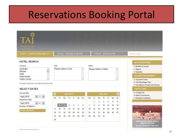 Taj hotel reservations booking portal 28 thecheapjerseys Choice Image