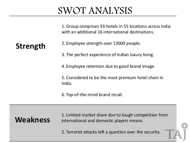 SWOT Analysis for Wedding Planners