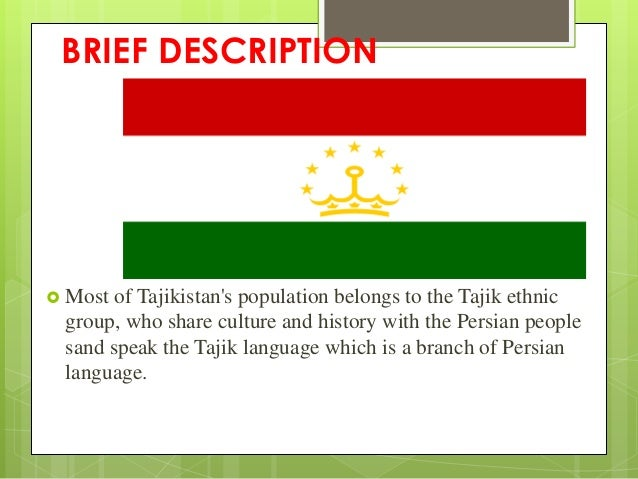 brief history of tajikistan View information on the history of tajikistan and other world countries  below is  a brief history of tajikistan to find information other than history for tajikistan.