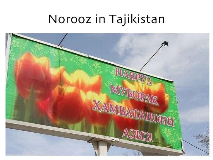 Norooz in Tajikistan