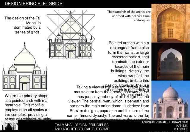 TAJ MAHAL DESIGN PRINCIPLES AND ARCHITECTURAL ...