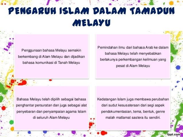 kesan kedatangan islam dalam tamadun melayu dari segi undang undang Kesan dari latar dalam tamadun islam dalam konteks malaysia, penggunaan undang-undang syara' terletak dalam bidang kuasa negeri-negeri yang.