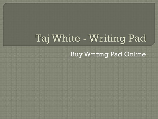 Online writing pad