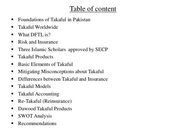 Dawood Family Takaful