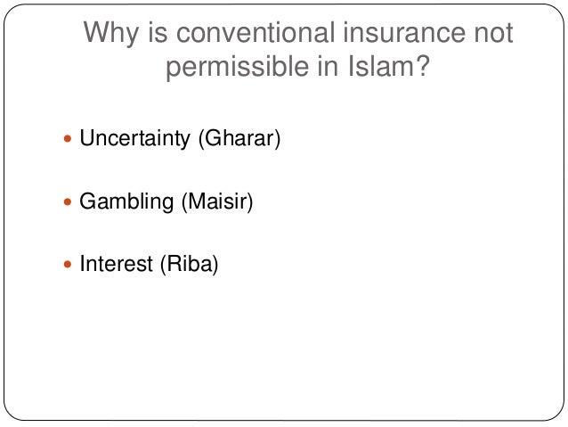 Muslim gambling insurance eagle river casino whitecourt