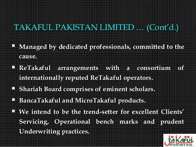 takaful and retakaful In response to growing interest from our clients globally, ndi insurance & reinsurance brokers ltd was delighted, in november 2015, to announce the launch of ndi takaful & retakaful ltd, a separate registered associate company ndi takaful & retakaful ltd is a fully-fledged shariah compliant broking organisation.