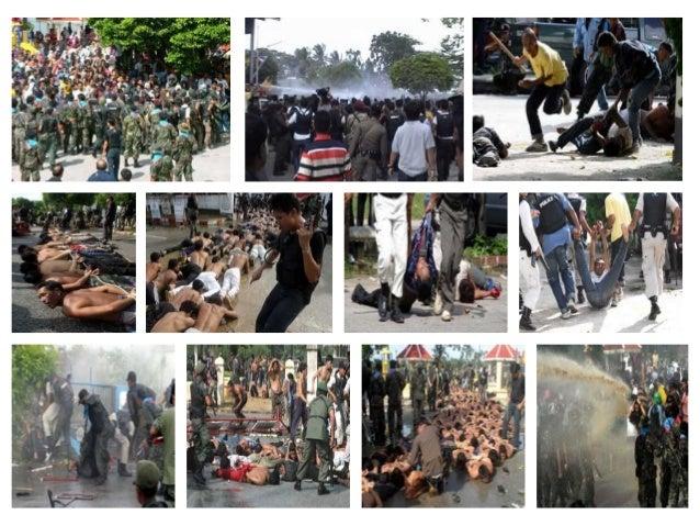"""SEPERTI HANTAR BABI KE PUSAT SEMBELIHAN""""Thaksin mungkin tidak bertanggungjawab secara langsung menyumbat tahanan ke dalam ..."""