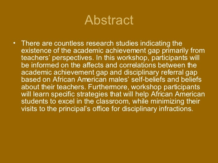 Racial achievement gap in the United States