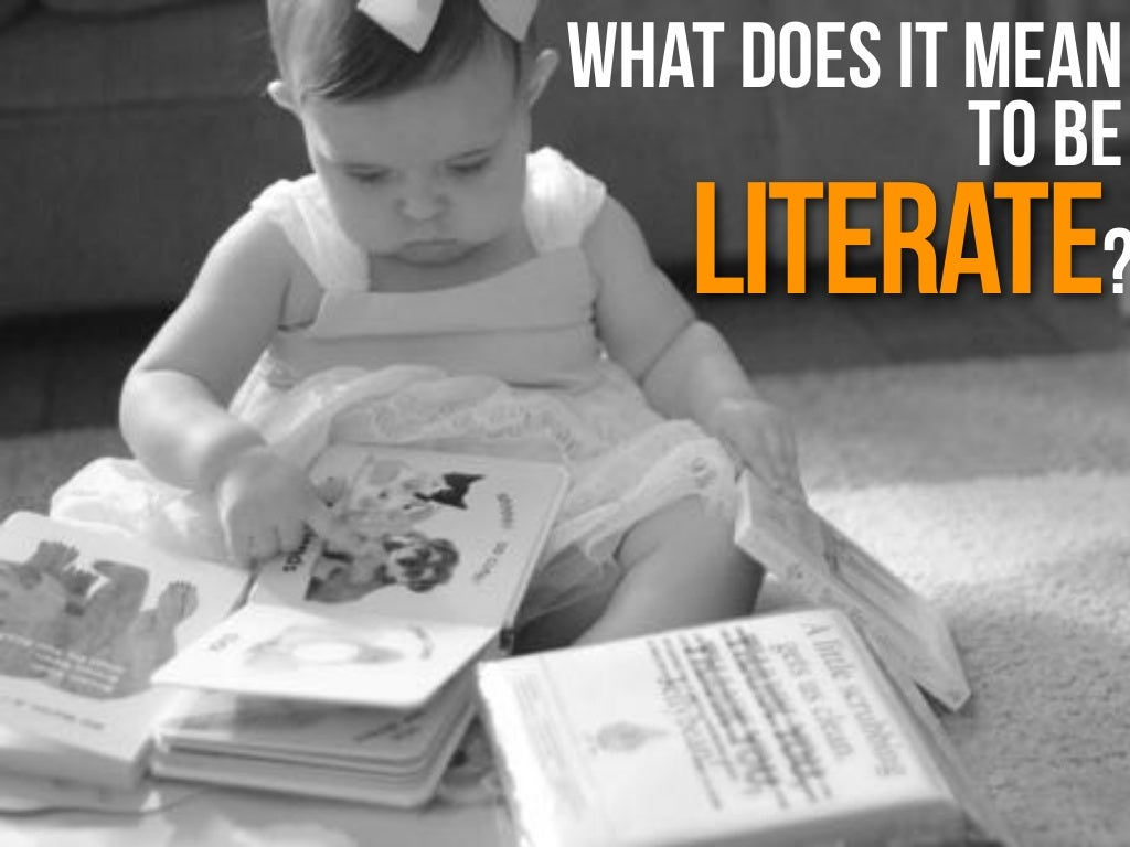 what literacy means Definition of literacy - the ability to read and write.