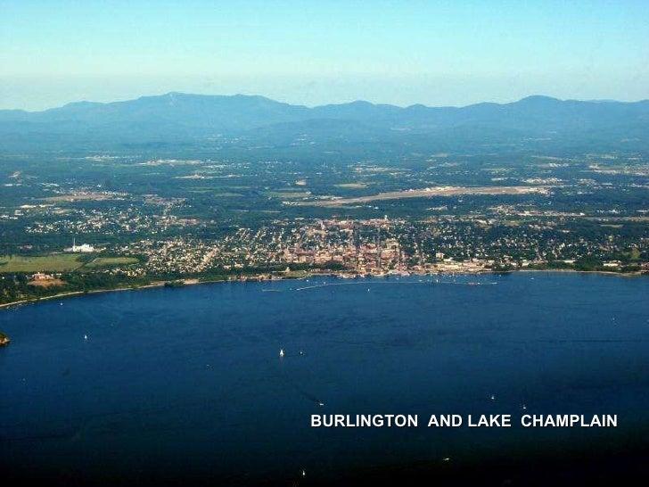 BURLINGTON  AND LAKE  CHAMPLAIN