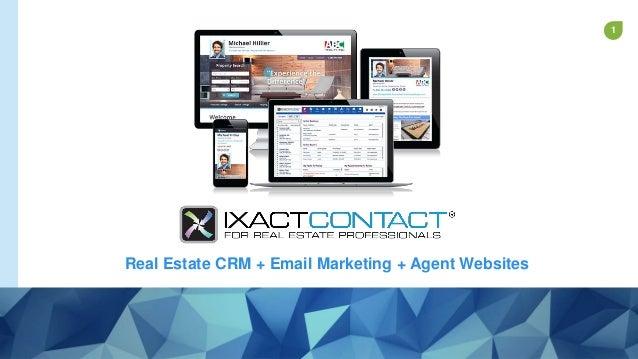 1 Real Estate CRM + Email Marketing + Agent Websites