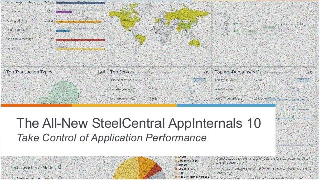 © 2014 Riverbed Technology. All rights reserved. 11 The All-New SteelCentral AppInternals 10 Take Control of Application P...
