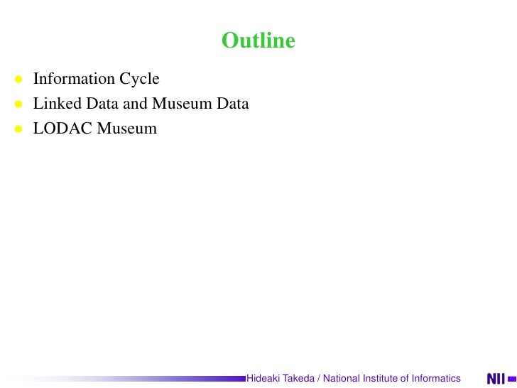 Connecting Museums with Linked Data Slide 2