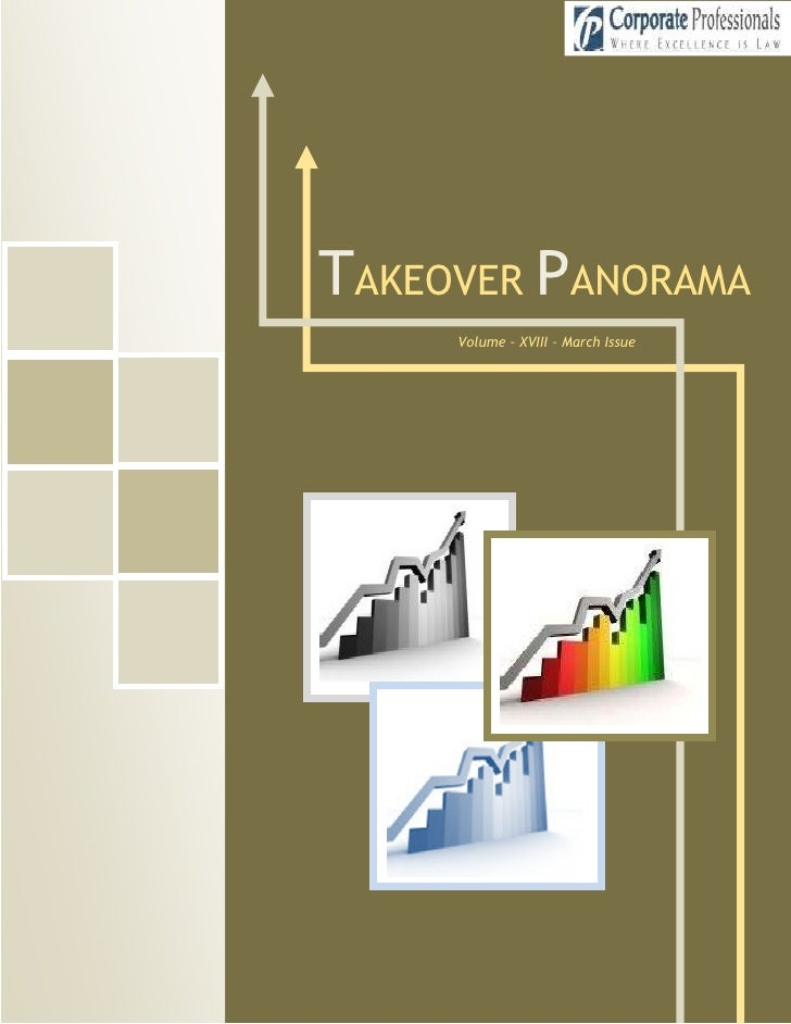 TAKEOVER PANORAMA       Volume – XVIII – March Issue       1