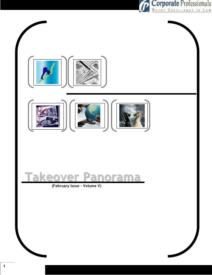 Takeover Panorama        (February Issue - Volume V)     1