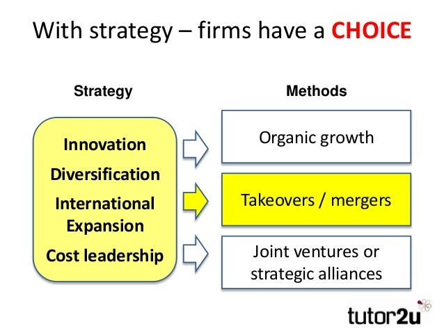 Business Growth Takeovers And Mergers