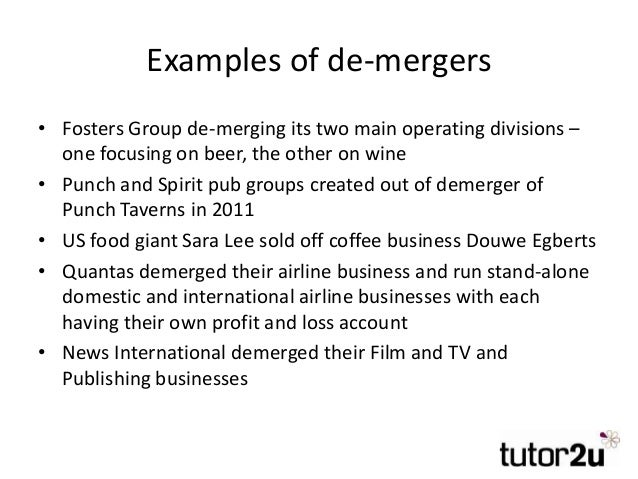 Cross border merger and acquisition case study