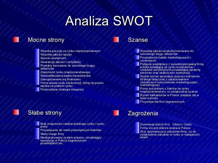 Takeshi - Analiza SWOT i marketing MIX