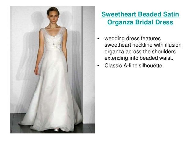 Simple Silhouette Wedding Dresses
