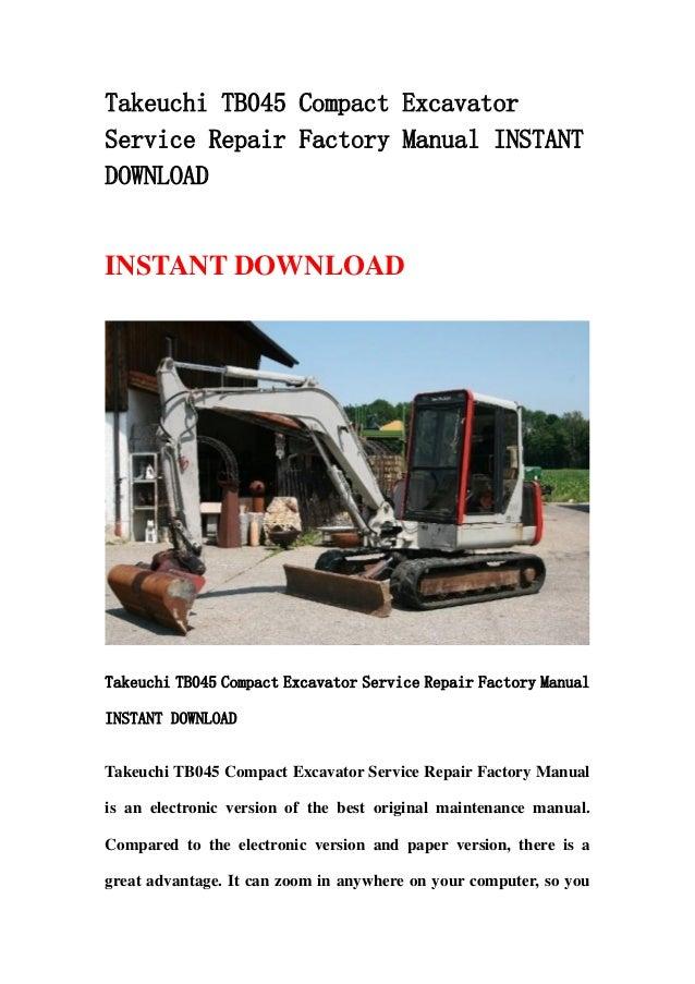 Takeuchi Tl150 Manual free