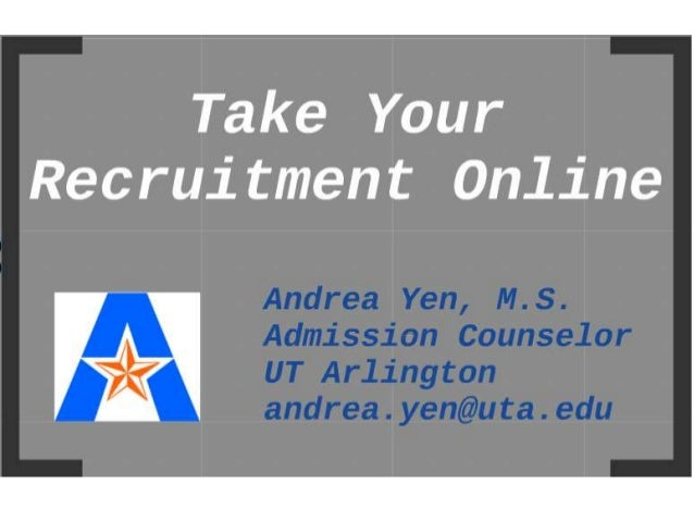 Take Your Recruitment Online