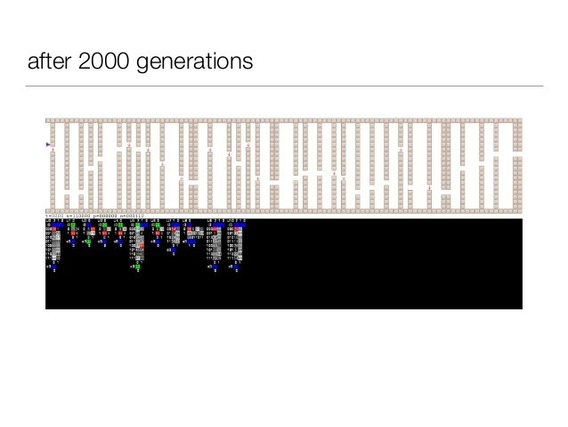 after 2000 generations