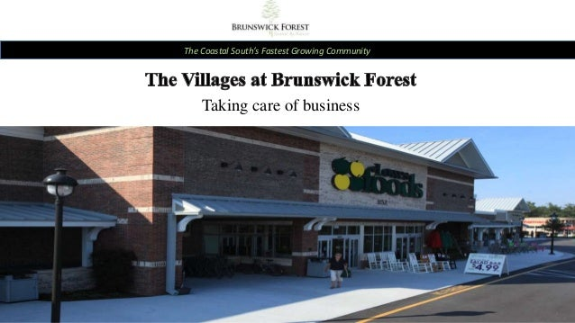 The Coastal South's Fastest Growing Community Taking care of business