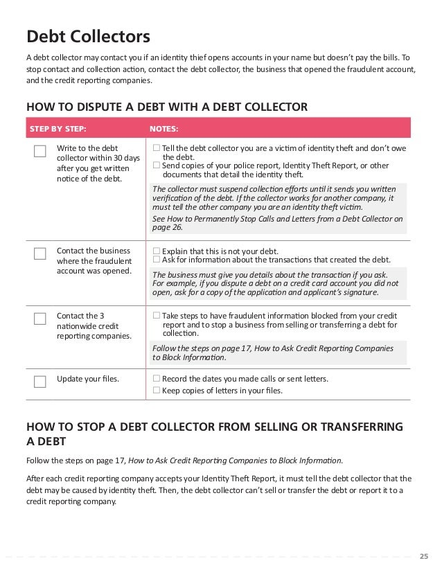 Taking charge what to do if your identity is stolen - Office of investor education and advocacy ...