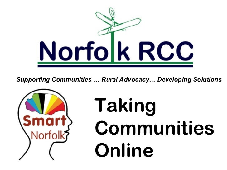 Supporting Communities … Rural Advocacy… Developing Solutions                       Taking                       Communiti...