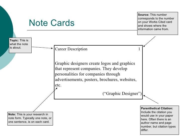 mla format bibliography cards