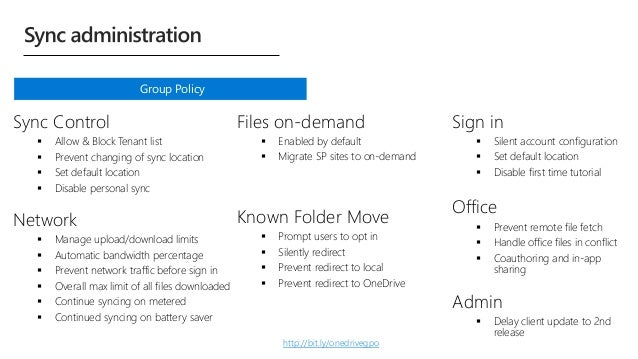 Taking OneDrive for Business administration to the next level