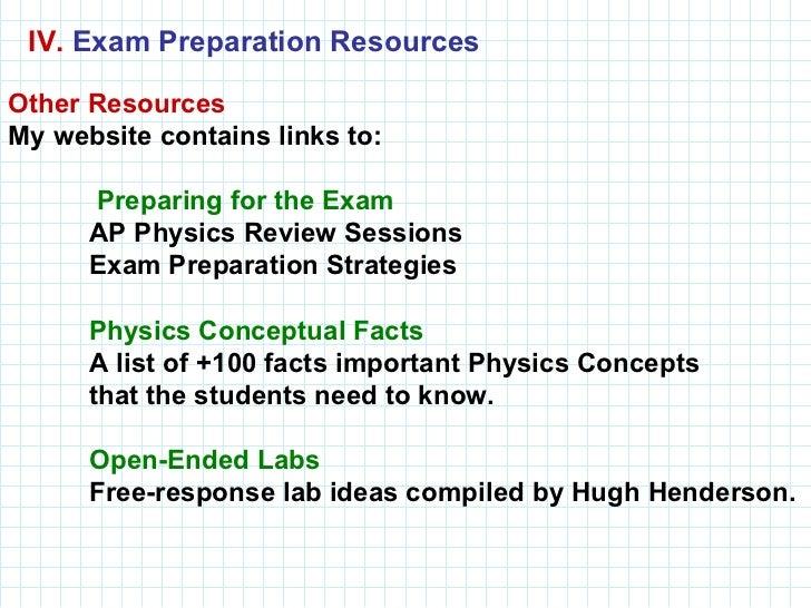 Taking the ap physics b exam