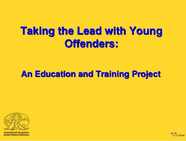 Taking the Lead with Young Offenders: An Education and Training Project
